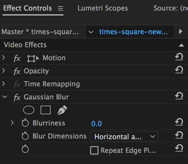 How to Blur Video in Adobe Premiere Pro - Storyblocks Blog