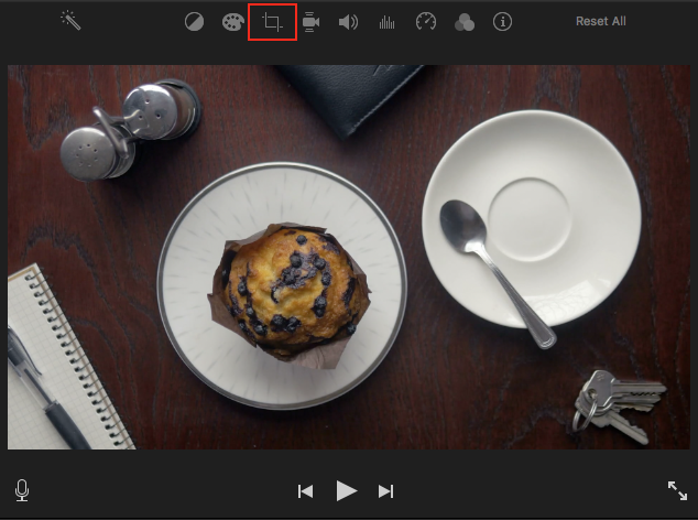 How to rotate videos in imovie storyblocks blog rotating the clip in the timeline will only rotate the part of the footage used in the project so click the crop button to bring up more options ccuart Images