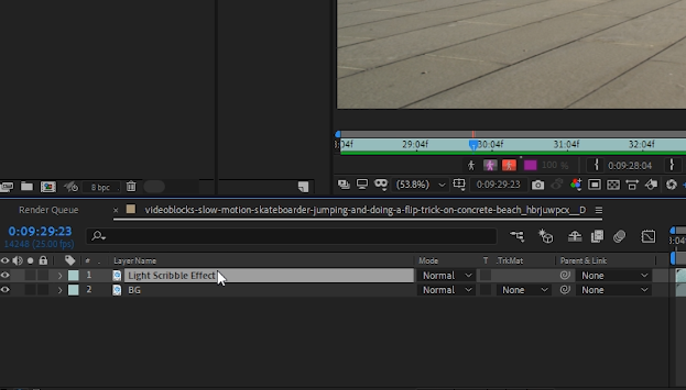 Naming layers in Adobe After Effects