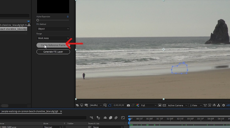 Create Reference Frame in After Effects