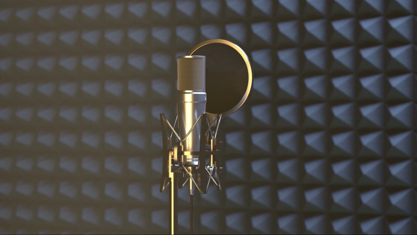 Microphone to record your first podcast